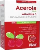 Acerola Plus 60tabletki do ssania
