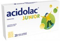 ACIDOLAC JUNIOR 20 misio-tabletek