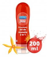Durex Play 2 w 1 żel intymny do masażu Ylang Ylang, 200 ml