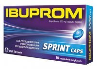 IBUPROM SPRINT CAPS 200mg 10kaps.