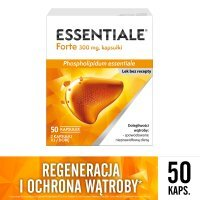 ESSENTIALE FORTE 300mg 50kaps.