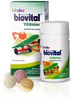 Kinder Biovital YOUnior, 30 tabletek do ssania