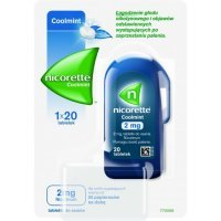 Nicorette Coolmint 2mg 20 tabletek do ssania