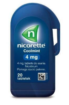 Nicorette Coolmint 4mg 20 tabletek do ssania