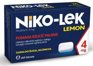 NIKO-LEK LEMON guma 4mg 24szt.