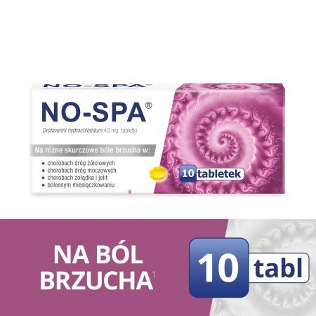 No-Spa 40mg 10tabl.