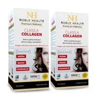 NOBLE HEALTH Zestaw Class A Collagen, 180 tabletek