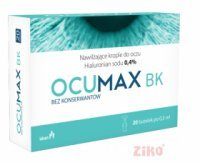 OCUMAX BK 0,4% krople do oczu 10ml (20x0,5ml)