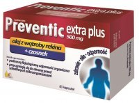 Preventic Extra Plus 500mg 60kaps.