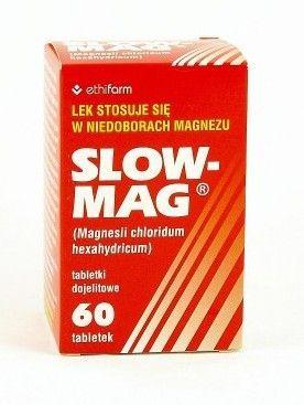 Slow mag magnez w tabletkach powlekanych e zikoapteka for Magnez w tabletkach