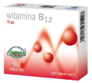 WITAMINA B12 0,01mg 100tabl. /NATURELL/