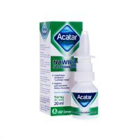 Acatar HydroCare nawilżający spray do nosa, 20 ml