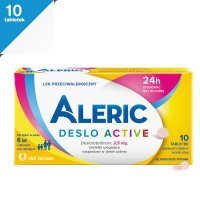 Aleric Deslo Active 2,5mg, 10 tabletek