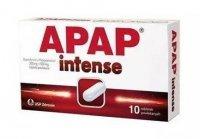 APAP Intense 200 mg + 500 mg, 10 tabletek
