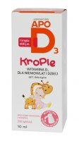 Apo D3 400 j.m. krople, 10 ml
