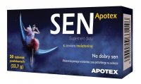 Apotex SEN, 30 tabletek + SEN w spray'u GRATIS