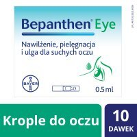 BEPANTHEN EYE krople do oczu 10x0,5ml