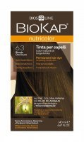 BIOKAP NUTRICOLOR 6.3 ciemnozłoty blond 140ml