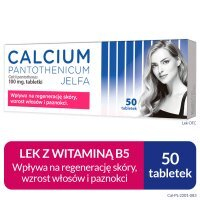 CALCIUM PANTOTHENICUM 100 mg 50 tabletek