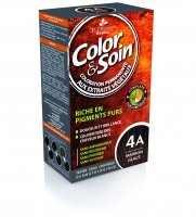 Color & Soin farba do włosów kolor 4A (Brąz zimny), 135 ml
