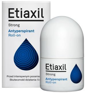 Etiaxil Strong Antyperspirant Roll-on pod pachy, 15 ml