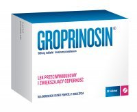 Groprinosin 500 mg, 50 tabletek
