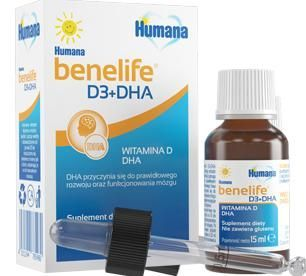 Humana Benelife D3 + DHA, 15 ml