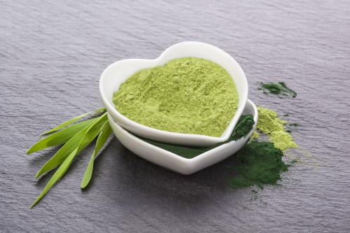 zielony jeczmien pedy sproszkowane