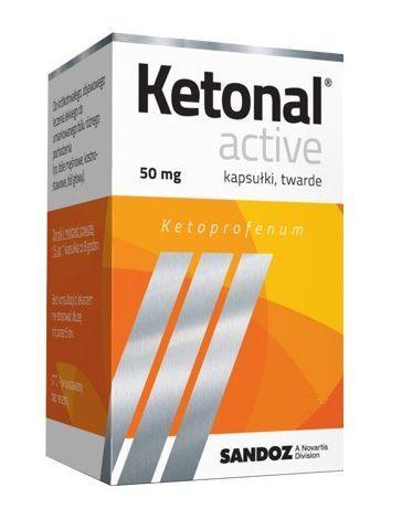 Ketonal Active 50 Mg Bez Recepty Cena Dawkowanie Ziko Apteka