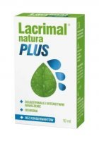 Lacrimal Natura Plus Krople do oczu, 10 ml