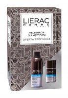 LIERAC Homme Zestaw Pianka do golenia, 150 ml + Dezodorant, 50 ml