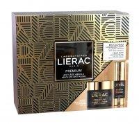 LIERAC Premium Zestaw Krem odżywczy bogata konsystencja, 50 ml + Krem pod oczy, 15 ml