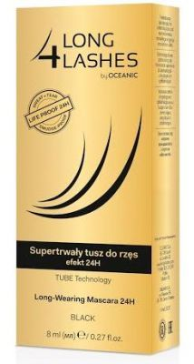 Long 4 Lashes supertrwały tusz do rzęs efekt 24h 8ml
