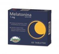 Melatonina 1 mg, 60 tabletek