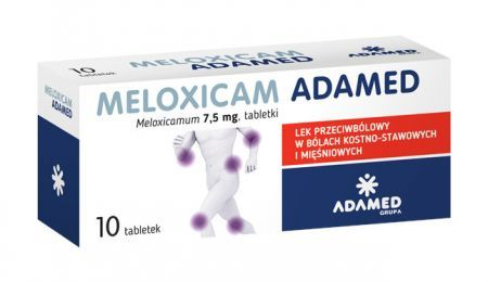 Meloxicam 7,5 mg /Adamed/, 10 tabletek