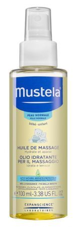 Mustela Bebe Olejek do masażu, 100 ml
