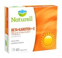 Naturell Beta-karoten + Witamina E, 60 tabletek