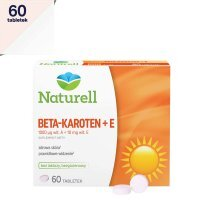 Naturell Beta-karoten + Witamina E  60 tabletek