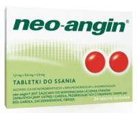 Neo-Angin z cukrem 24 tabletek do ssania