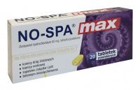 No-Spa Max 80 mg, 20 tabletek