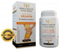 NOBLE HEALTH Get Slim Cellulite redukowanie cellulitu, 45 tabletek