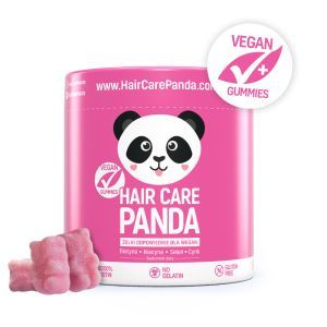 NOBLE HEALTH Hair Care Panda Witaminy w żelkach, 300 g