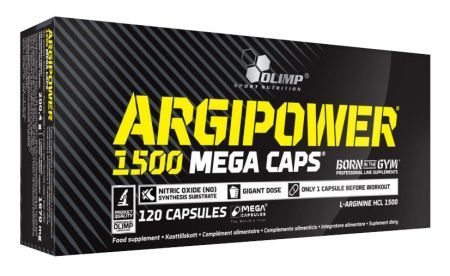 Olimp Argi Power 1500 Mega Caps, 120 kapsułek