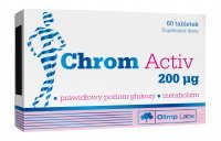 Olimp Chrom Activ 200 µg, 60 tabletek