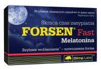 Olimp Forsen Fast Melatonina, 30 tabletek