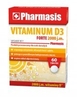 Pharmasis Vitaminum D3 Forte 2000 j.m., 60 tabletek