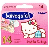 Plastry Salvequick Hello Kitty 14szt.
