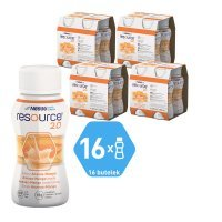 Resource 2.0 smak ananas - mango, 16 x 200 ml