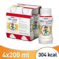 Resource Junior smak waniliowy, 4 x 200 ml