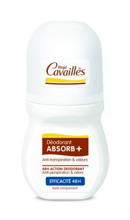 Roge Cavailles Dezodorant Absorb+ 48h roll-on, 50 ml